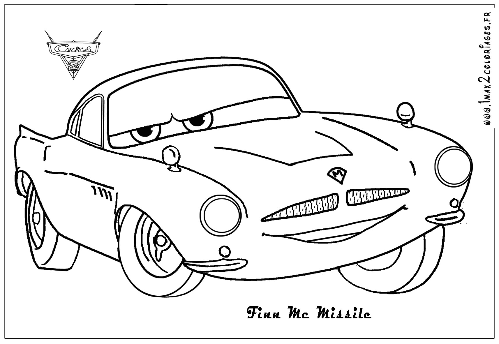 Coloriage Cars Coloriage Ploo Fr