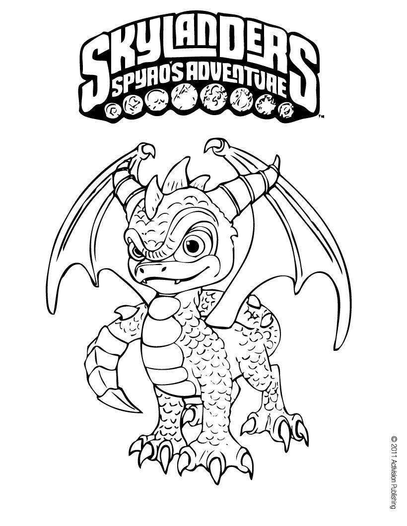 skylanders swashbuckler coloring pages - photo#4